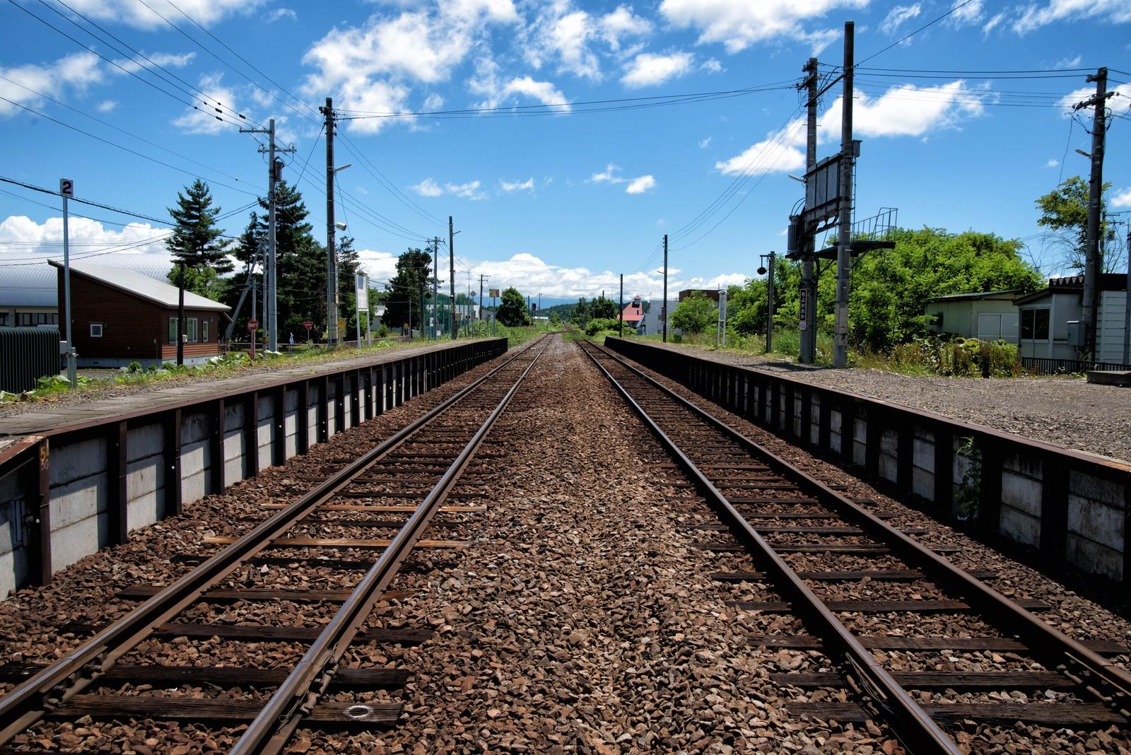 田舎と線路